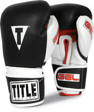 Title Gel Intense Bag/Sparring Gloves mma muay thai boxing training fight gear