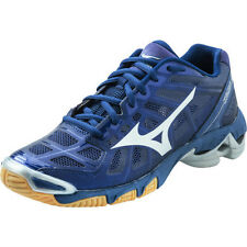 NEW Mizuno Wave Lightning RX2 Women's Volleyball Shoes, Navy/Silver, 430155.5173