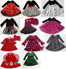 NWT Girls Dress Long Sleeve NEW shrug set Holiday Xmas Birthday Wedding 4 5 6 7