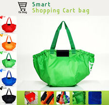 Market Reusable ECO Bags Easy Shopping Cart Tote Shoulder Beach pool Carry
