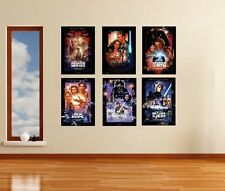 Star Wars Movie Wall Art Posters