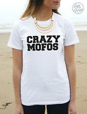 * nuovo CRAZY MOFOS T-SHIRT Niall 1D One Direction moda divertente HARRY STYLES *