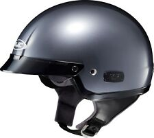 *Ships Same Day* HJC IS-2 (Anthracite) Half Helmet Motorcycle Helmet