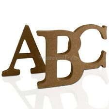 Free Standing Wooden MDF Letters 18mm Thick! 150mm, 15cm High FROM £1.20