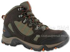 Big Mens Chocolate Hitec Falcon Waterproof Hiking Boot Size UK10 to UK16