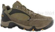 Big Mens Brown Hitec Eagle Waterproof Hiking Walking Shoes Size UK10 to UK16