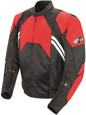 *Ships Same Day* JOE ROCKET Radar (Red/Black) Leather Jacket