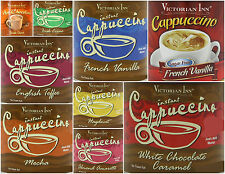 2 x Victorian Inn Instant Cappuccino OR Hot Chocolate Drink Mix Just Add Water