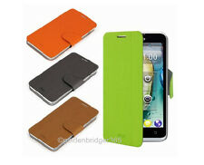 MOFI Thin PU Leather & Steel Plate Wallet Cover Case for LENOVO LePhone P770