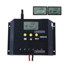 30A 60A LCD display Solar Charge Controller Regulator 12V 24V Light and timer