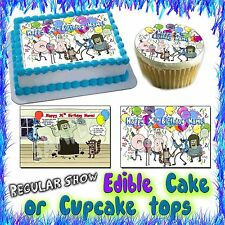 The Regular show cake topper or cupcake tops image picture photo sticker decal