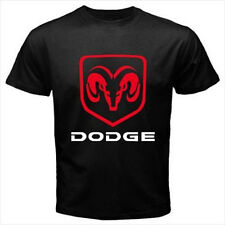 Dodge Ram Logo American Muscle Car Black T-Shirt Size S to 3XL Brand New