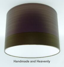 Lampshade Handmade with Graham & Brown Figaro Amethyst Wallpaper VARIOUS SIZES