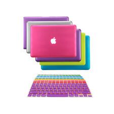 """NEW! Rubberized Hard Case Cover for Macbook PRO 13"""" A1278 + Keyboard Skin Covers"""