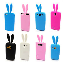 ZY Selectable Cute Bunny Rabbit TPU Skin Case Cover for Multi Phone Model