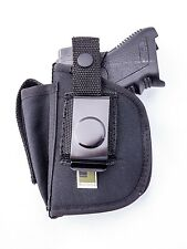 Springfield XDS Compact CRM-203 Crimson Trace | Nylon OWB Holster & Mag Pouch