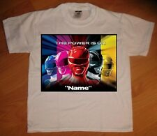 """Power Rangers"" Personaliz​ed T-Shirt - NEW"