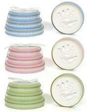 Short Stack Plaster Child Handprint Tins - Item #159665