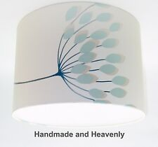 Lampshade Handmade with NEXT Starburst Teal Wallpaper VARIOUS SIZES AVAILABLE