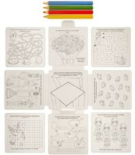 CHILDRENS KIDS WEDDING ACTIVITY PUZZLE COLOURING BOOK PACK FAVOUR
