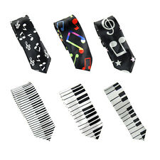 """New Fashion Mens """"Music Style"""" Wide 2 inches Neck ties"""