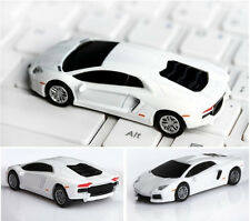 Cool !White Car Model USB 2.0 Full Memory Stick Flash pen Drive 4GB-32GB
