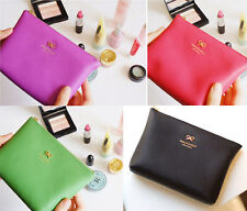 Ribbon Lovely Color Cosmetic Pouch Makeup Case Bag Jam studio
