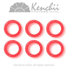 Kenchii finger inserts for shears - 3 sizes in 6 pack all colors rubber KEFI NEW