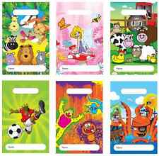 Childrens Birthday Party Bags Kids Favours Fill With Toys Or Sweets