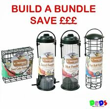 Bird feeders SEED NUT FAT BALL SUET CAKE Combinations discounts bundles FREE P+P