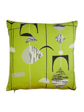 Sanderson Mobiles 50s 60s Vintage Retro Atomic Fabric cushion covers - Green