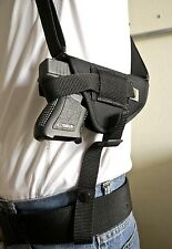 Hi-Point C9 | Nylon Horizontal Shoulder Holster with Double Mag Pouch