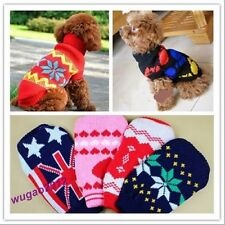 Hot Puppy Pet's Warm Clothes Cat Dog's Cute Clothes Sweater Knitted Coat 6 Sizes