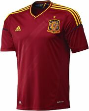 adidas Spain Home Youth Soccer Jersey - Euro 2012