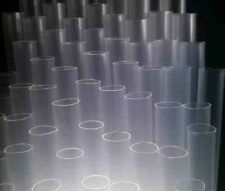 10mm Mega Size Clear Plastic Drinking Straws, Thick Smoothie & Milkshake Straws
