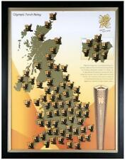 LONDON 2012 OLYMPICS TORCH RELAY PIN BADGE - PLEASE CHOOSE YOUR PIN DAY 46 TO 60
