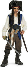 BOYS PIRATES OF THE CARIBBEAN 4 - CAPTAIN JACK SPARROW CHILD COSTUME