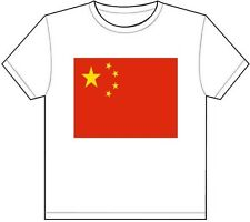 CHINA COUNTRY FLAG T-SHIRT TEE PICTURE PHOTO chinese beijing asia shanghai 711