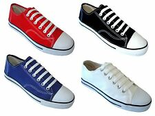 New Women's Canvas Sneakers Classic Lace Up Fashion Shoes Colors, Sizes:5-10