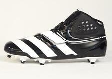 Adidas Malice D Black & White Football Cleats Detachable Cleats Mens NWT