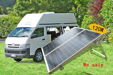 foldable complete kit 80W 100W 120W 12V folding portable solar panel off grid RV