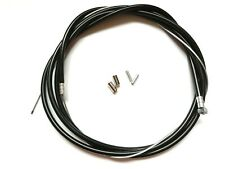 BICYCLE INNER AND OUTER BRAKE CABLE WITH CRIMPS&CABLE ENDS - FRONT or REAR