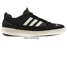 New adidas Sport Climacool BOAT LACE DLX Water Shoes Black White CC Outdoor