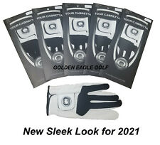 Leather Golf Glove New 4 Pack Genuine Cabretta Q Super Soft Many Sizes Available