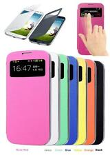 New FLIP PU Leather CASE Cover Smart Wake View For SAMSUNG GALAXY S4 S IV i9500