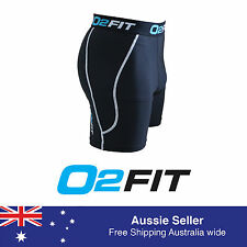 Mens Compression Wear Shorts Skin Tights Sports AFL Rugby Soccer Running Hockey