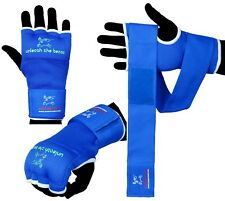 Evo Boxing Inner Gloves hand Wraps Punch Bag MMA Grappling Martial Arts Bandages