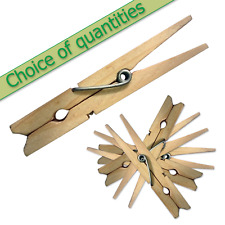 Wooden clothes pegs washing dryer airer craft 10 20 30 40 50 60 120 250 500