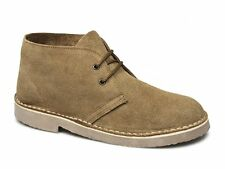 Cotswold SAHARA Mens Womens Ladies Suede Lace-Up Ankle Desert Boots Taupe Brown