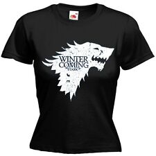 House Stark Sigil Game of Thrones HBO Wolf T-shirt Women Fit All Sizes & Colors